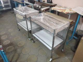 Продаются 4 стола из инокса(нержавейки) для секций для новорожденных в родильных домах