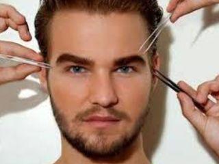 Коррекция бровей для мужчин Рышкановка