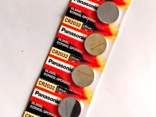 Элемент питания литиевый Panasonic CR2032