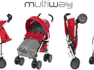 Chicco Multiway Evo 0+ прогулочная коляска-трость
