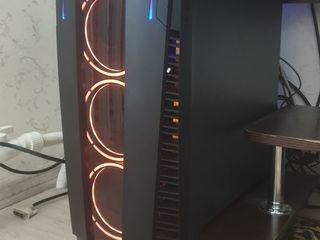 Срочно! Игровой/рабочий системник Ryzen 7 2700 16 потоков, RTX 2060(=GTX 1080)16GB RAM,250GB, 3TB)