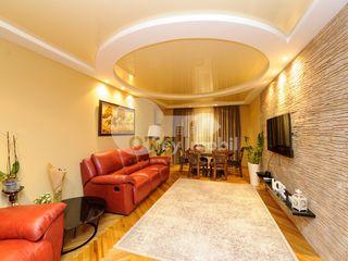 Apartament 5 camere, 100 mp, reparație euro, Moscovei 500 €