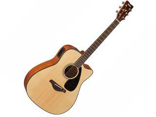Yamaha FGX800C - Chitară electro-acustică de tip dreadnought, preamp, doză Piezo, tuner