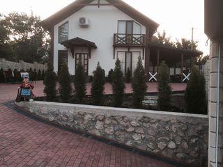 casa se afla la 2km de oras nou construita cu toate comoditatile