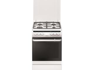 Плита Hansa FCMW58020  комбинированная/ газовые/ белый