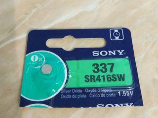 Baterii sony 337 / Baterie pentru microcasti батарейка для микронаушник Sony original 49-85 lei