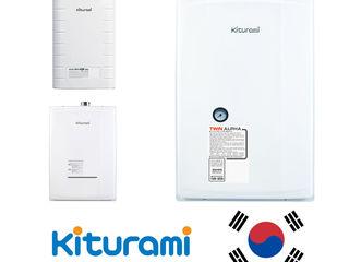 Настенные газовые котлы Kiturami (Южная Корея) купить в Кишинёве, Молдова фото,цена