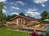 Casa ecologica, varianta alba la doar 42240 euro. Rezistenta si termoizolare superioara,