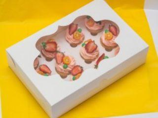 Картонные коробки для капкейков.