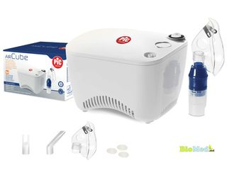 Inhalator Nebulizator AirCube cu compresor Italia Ингалятор Небулайзер Италия с гарантией