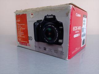 Canon 400D полный комплект без оптики