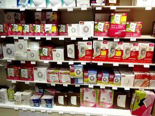 Магазин вентиляторов в Кишиневе, вентиляторы вытяжные для туалета и кухни