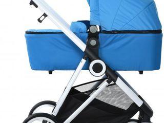 Универсальная коляска 2 в 1 Miqilong Mi baby T900 Navy Blue