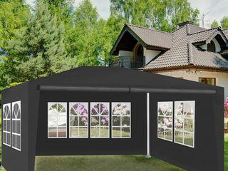 Палатка-павилион 3х4м, темно серая, со стенками (типа торгово-садовая)! абсолютно новая, в упаковке!