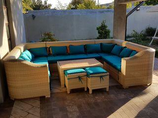 Изготовление мебели из ротанга для террас, беседок. Producem mobila pentru terrase, foisoare