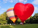 Воздушный шар сердце!!!
