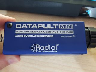 Radial Catapult Mini Compact Cat 5 Analog Snake