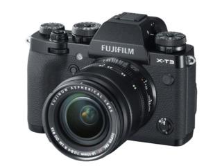 Aparat foto mirrorless FujiFilm X-T3 /XF18-55mm F2.8-4 R LM OIS Kit black