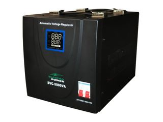 Stabilizator tensiune electropower ep-svc-5000va-(4000w)-230v - nou