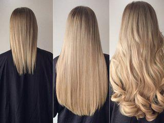 Наращивания волос вип класса