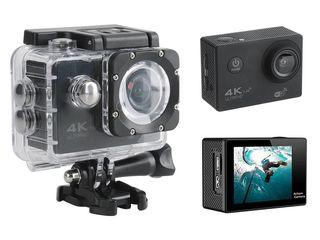 Action camera wifi  4k, 16mp  rezistent la apă, экшн-камера