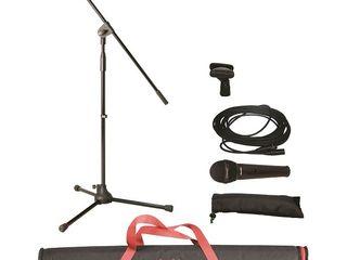 Set microfon, stativ si cablu Superlux MSKA(X) Singer Pack
