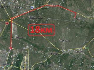 Urgent !!!!vind loc de casa 19. km de la chisinau 5km de la vaduluivoda 11.50ari