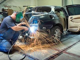 Кузовной ремонт  рихтовка   ремонт деталей