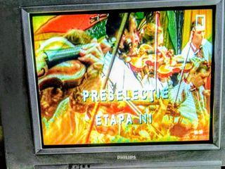 Телевизор Philips 550 лей и DVD плеер 200 лей.Срочно.