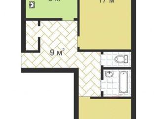 Schimb apartament cu 2 odai Ciocana pe 1 odaie+$!