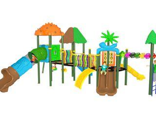 Детские игровые площадки, горки, качели