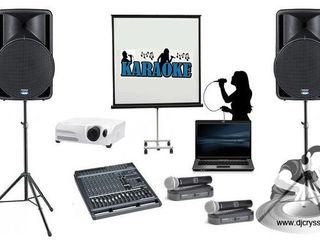 Arenda karaoke instalarea aparatajului in club, cafe аренда профессиональной караоке-системы