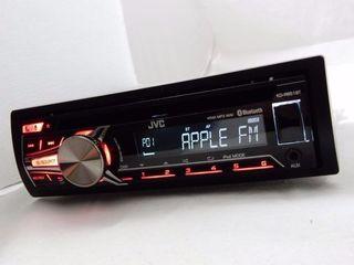 Оригинал JVC (usb,iphone,aux,Bluetooth,съемная панелька) 1300 лей в отличном состоянии!