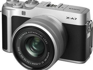 Fujifilm X-A7 Silver XC15-45 kit