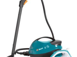 Aparat de curățat cu abur cu fier de călcat BDR-2500-RR-Iron / livrare / credit / Garantie