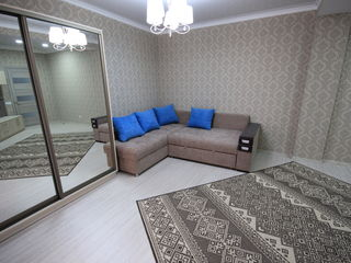 Chirie! Botanica, str. Melestiu, dormitor + living, 50 m2, Euroreparație!