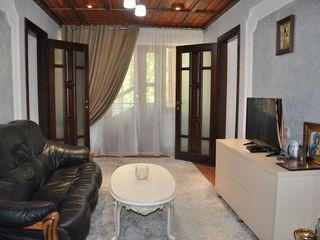 Дом 125 кв. м  с ремонтом 8 сот.   Мэгдэчешть меняю на квартиру в Кишиневе+доплата