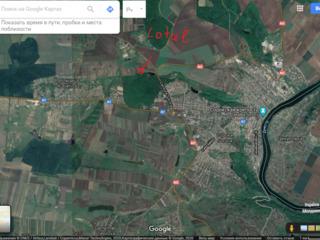 Teren cu suprafata de 0.38 ha regiunea Planul Nou Soroca, linga padure.