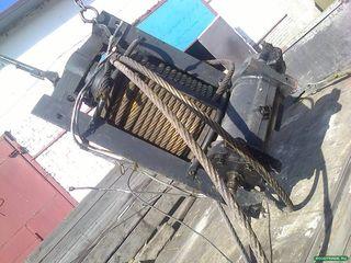 Лебедка автомобилей КрАЗ лаптежник