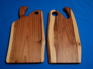 Разделочные доски из массива ореха(слэб) оригинальный дизайн-ручная работа,изготовление под заказ.