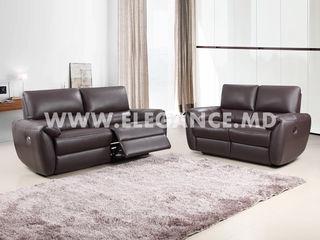 Canapea relax electric si mecanic. Centrul de mobila Elegance