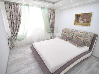 Apartament de lux, cu 3 camere, bloc nou, Melestiu 550 €