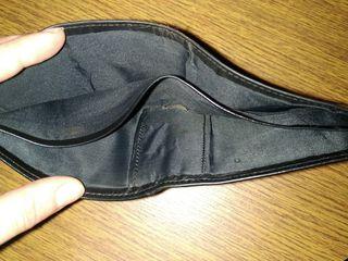 Продам кожаный кошелек Pierre Cardin