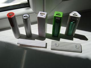 Универсальные Power Bank на сменных Li-Ion аккумуляторах 18650