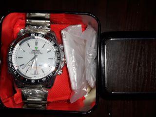Наручные часы, мужские,  Weide, стрелочно-цифровой циферблат...