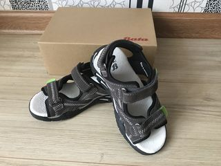Sandale noi bata, piele