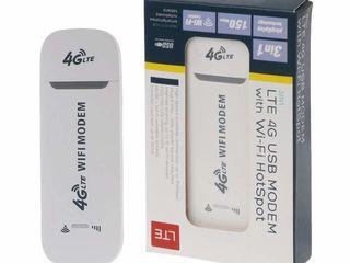 4G LTE модем с встроенным WiFi роутером и точкой доступа WiFi в виде USB флэшки.
