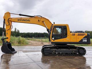 Excavator Hyundai 210