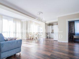 Apartament cu 2 camere + salon în chirie, bd. Moscovei - 470 euro