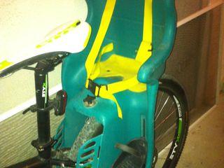 Scaun pentru copii la bici